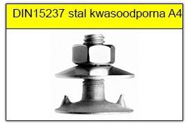 DIN 15237 stal kwasoodporna A4
