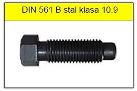 DIN 561 B stal klasy 10.9