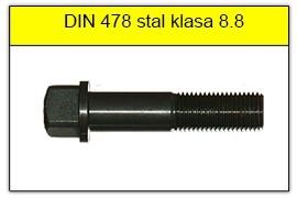 DIN 478 stal klasy 8.8