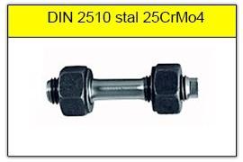 DIN 2510 - PN-74302 stal 21CrMoV5-7