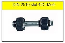 DIN 2510 - PN-74302 stal 42CrMo4