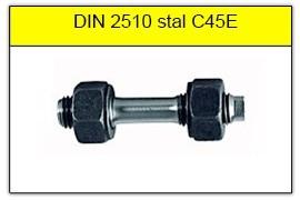 DIN 2510 - PN-74302 stal C45E