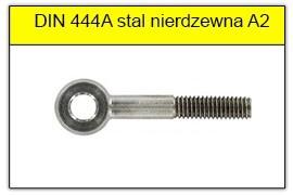 DIN 444A - PN-82425 stal nierdzewna A2