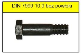 DIN 7999 stal klasy 10.9 bez powłoki