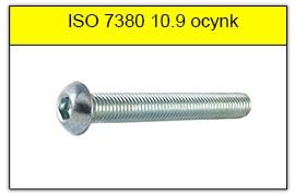 ISO 7380 10.9 ocynk