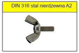 DIN 316 stal nierdzewna A2