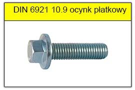 DIN 6921 10.9 ocynk płatkowy