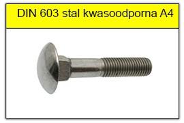 DIN 603 stal kwasoodporna A4