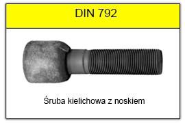 DIN 792 Śruba kielichowa