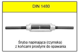 DIN 1480 - Końce proste do spawania