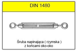 DIN 1480 - Końce oko-oko
