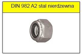 DIN 982 A2 stal nierdzewna