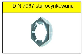 DIN 7967 ocynk galwaniczny