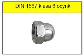 DIN 1587 klasa 6 ocynk galwaniczny