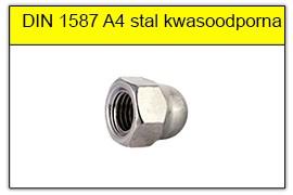 DIN 1587 A4 stal kwasoodporna