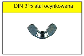 DIN 315 stal ocynkowana