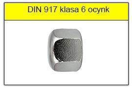 DIN 917 klasa 6 ocynk