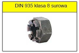 DIN 935 klasa 8 surowa