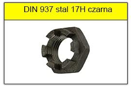 DIN 937 stal 17H czarna