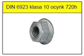 DIN 6923 klasa 10 ocynk płatkowy 720h