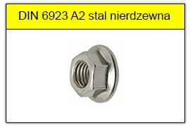 DIN 6923 A2 stal nierdzewna