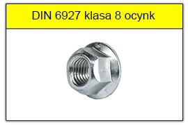 DIN 6927 klasa 8 ocynk