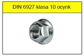 DIN 6927 klasa 10 ocynk