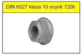 DIN 6927 klasa 10 ocynk płatkowy 720h