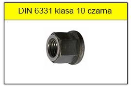 DIN 6331 klasa 10 czaerna