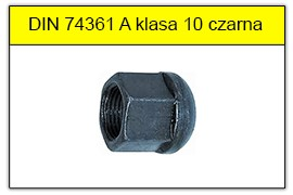 DIN 74361A klasa 10 czarna