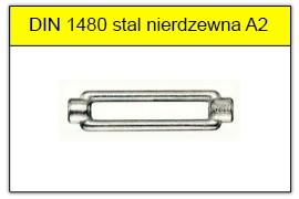 DIN 1480 A4 stal kwasoodporna