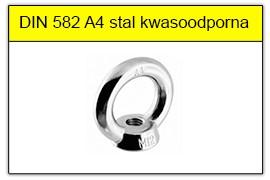 DIN 582 A4 stal kwasoodporna