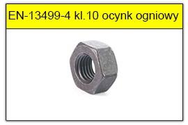 EN-13499-4 Nakrętka HV klasa 10 ocynk ogniowy