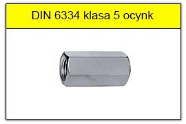 DIN 6334 klasa 5 ocynk