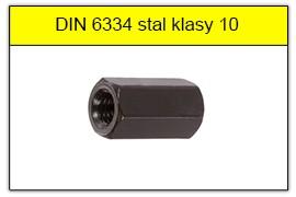 DIN 6334 klasa 10 czarna