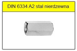 DIN 6334 A2 stal nierdzewna