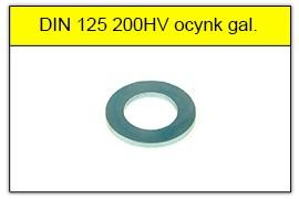 DIN 125 100HV surowa
