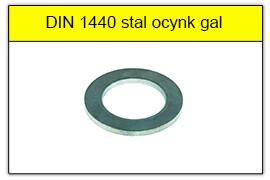 DIN 1440 stal ocynk galwaniczny