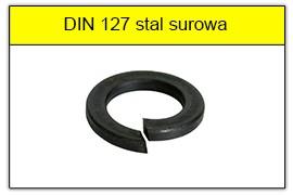 DIN 127 stal surowa
