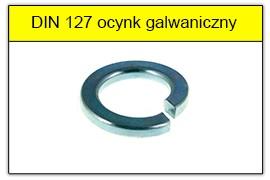 DIN 127 ocynk galwaniczny