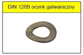 DIN 128B ocynk galwaniczny