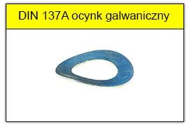 DIN 137A ocynk galwaniczny