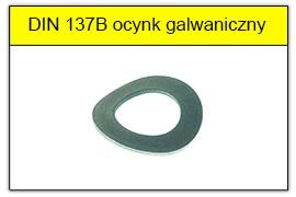 DIN 137B ocynk galwaniczny