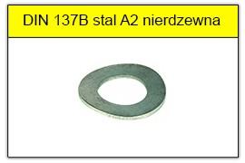 DIN 137B stal A2 nierdzewna
