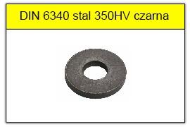 DIN 6340 stal 350HV czarna
