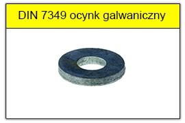 DIN 931 5.8 ocynk galwaniczny