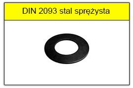 DIN 2093 stal sprężysta