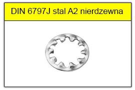DIN 6797J stal A2 nierdzewna