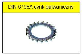 DIN 6798A ocynk galwaniczny