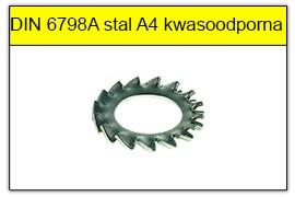DIN 6798A stal A4 kwasoodporna
